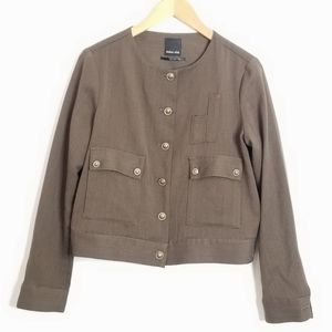 Dolce Vita Military Cropped Jacket